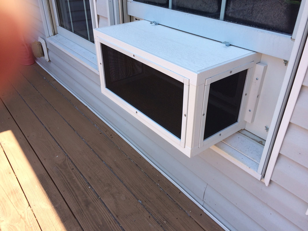 Cat Window Patios from CWAA Crafts! - Cat Window Boxes and